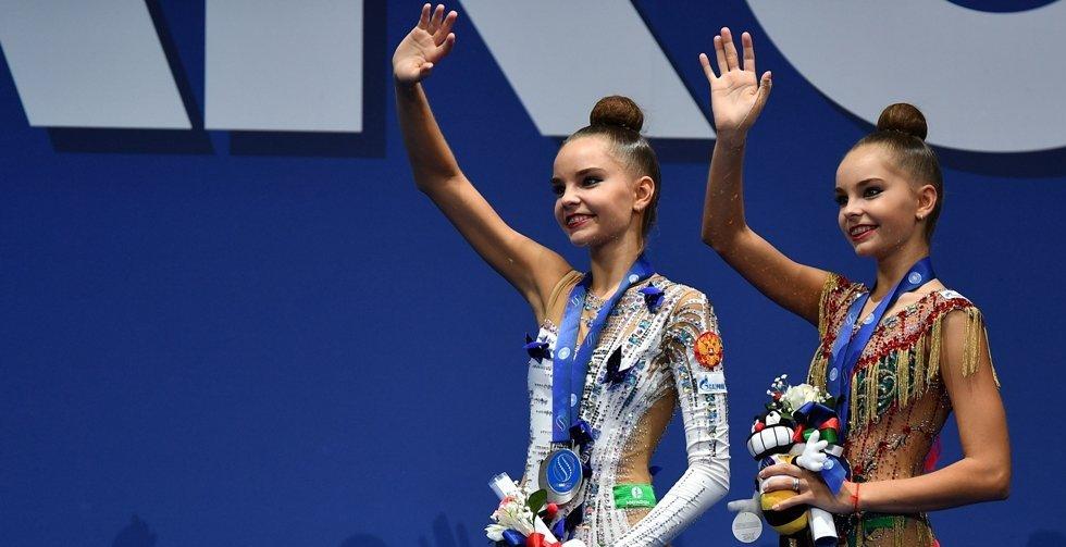 <h1>Дина и Арина Аверины</h1>Победительницы ЧМ-2017 в многоборье и отдельных видах